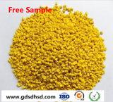 Plastic HDPE Masterbatch Virgin Color Yellow