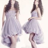 Purple Cocktail Prom Party Dress Short Evening Dress T921