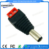 CCTV DC Power Connector with Red Screw Terminal (PC102RD)