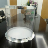 Double Layer Clear Cake Plastic Packaging Display Box with Lid