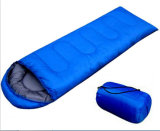 Envelope Style Solid Color Sleeping Bag for Camping