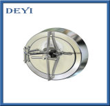 "8"" Pressure Circular Manhole Door Cover with Mirror Polished"