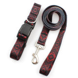 Quick Release Fancy Wholesale Printing Dog Leashes Collar Pet Production