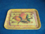 Rectangle Candy Color Tray, Plastic Tray, Fruit Tray, Food Tray, Flat Plate