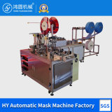 Face Mask Automatic Manufacturing, Surgical Facial Mask Making Machinery Equipment, Medical 3 Ply Non-Woven Disposable Face Mask Machine