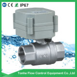 2 Way Dn20 Electric Motorized Motorised Stainless Steel Ball Shut off Valve