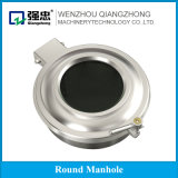 Sanitary Stainless Steel Tank Parts Manhole Cover with Sight Glass