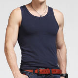 Wholesale 100%Cotton Sleeveless Gym Tank Top