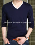 Wholesale High Quality Loose Cotton Men Shirt with Custom Logo