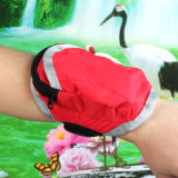 Women′s Handbags Sports Nylon Wrist Pouch Bags for Smartphone