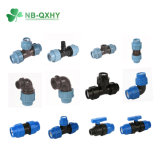 China Factory New Material PP Pipe Fitting PP Compression Fittings Pn16