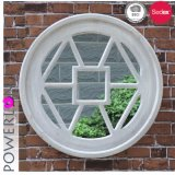 Round Decarative Wooden Wall Mirror