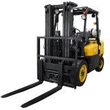 Price New Triplex Mast Lift 6m Side Shifter Fork Positioner Gas LPG Forklift Lift Truck with Nissan K25 engine