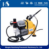 Mini Piston Air Compressor Kit for Airbrush Body Temporary Tattoo As18ck