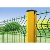 Factory Price 3D Curvy Outdoor Durable Corrosion Resistance Decoration Residential Garden Welded Wire Mesh Panel Fence