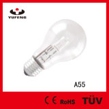 Hot Sale Eco A55 18W 230V Energy Saving Halogen Lamp Standard with Ce RoHS ERP Meps