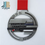 Custom Wholesale Price Casting Antique Metal Grappling Award Medal