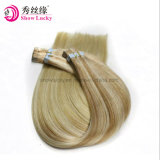 Double Drawn Brazilian Remy PU Tape Skin Weft Extensions 100% Human Full Cuticle Straight Hair Products