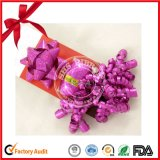 Hot Sale Gift Wrapping Polyester Ribbon Star Bow and Curly Bow