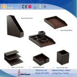 PU Leather Projects Desktop Stationery Sets (4130R3)