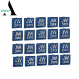 Factory Supplier Metal Enamel Jw. Org Pins Labels