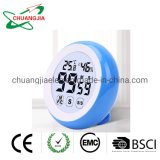 Round Shape Digital Kithen Timer with Temperature and Humidity