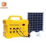 Mini Power Bank Charged by Solar Panel Integrated with Torch/Player/Radio for Outdoor Use