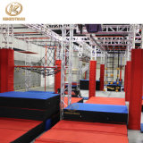 Top Quality Wholesale Price Commercial Kids Indoor Trampoline Park with Ninja Warrior
