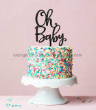 Oh Baby Cake Topper Baby Shower Decoration Acrylic Cake Topper