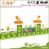 Kids Kindergarten Furniture / Kids Toy Cabinet for Indian