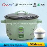 Flower Design Big Drum Rice Cooker with Nonstick Coating Inner Pot
