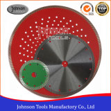 110mm-230mm Hot Press Sintered Turbo Saw Blade Granite Cutting Blade