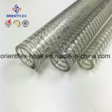 High Temperature PVC Steel Wire Plastic Reinforced Hose