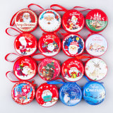 Wholesales Price 2018 Christmas Ornament Coin Purse Bag Christmas Decorating Gift Bag for Coin, Date Cable
