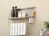 Kitchent Material Chopsticks Single Shelf with a Cup Holder Gfr-319