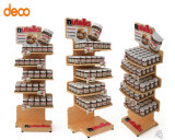 Wholesale Advertising Corrugated Paper Chocolate Retail Display Shelf