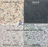 G603/654/G664/Rusty Grey Black Yellow White Natural Marble/Granite Slab