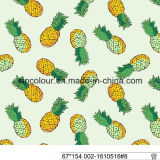 Pineapple Printing Knitted Fabric 80%Polyamide 20%Elastane Fabric