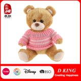 New Design Plush Toy Wholesale Teddy Bear with Pink Sweater