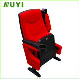 China VIP Cinema Chairs Seating Movie/Theater Chair with Plastic Armrest