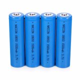 Factory Hot Selling 18650 Li-ion Rechargeable Battery 1500mAh 3.7V Lithium Battery Cell for Emergency Lights