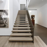 Invisible Stair Stringer Wooden Floating Staircase