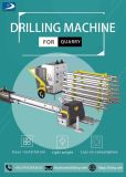 Hydraulic & Pneumatic Down The Hole Drill Machine for Granite Quarry