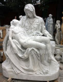 Hand Carved Famous White Marble Sculpture (SK-2363)