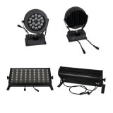 DC24V IP68 RGB 9W DMX LED Flood Light