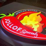 Factory Custom Design Acrylic Light Box Sign Outdoor Supermarket Indoor Store LED Advertising 3D Light Box