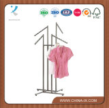 4 Way Clothing Shelf with Slanted Arms