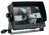 7 Inch Car Quad Monitor for Coach/Bus/Carvan/Truck