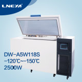 -120 Degree ~ -150 Degree Low Temperature Industrial Cryogenic Freezer Dw-A5w118s
