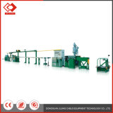 Custom Automatic Double Axis Jacket Sheath Extruder Machine Line